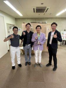 チーム優勝 体育会ゴルフ部